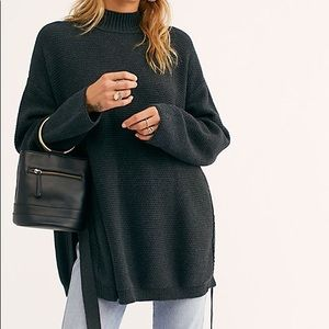 NWT FP beach oversized knit pullover